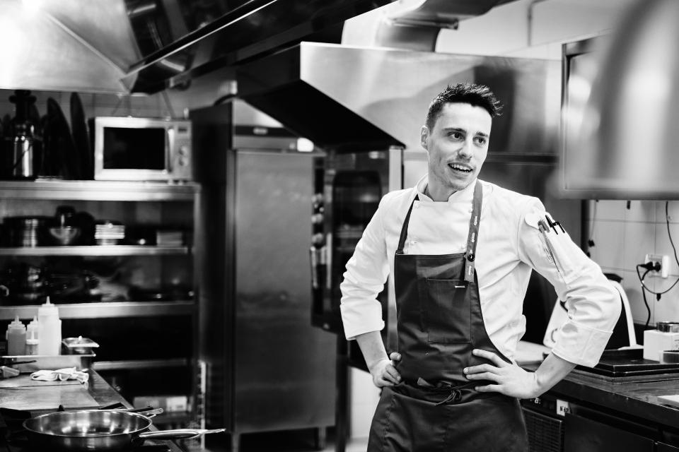 Chi e' Marco Molaro, Chef de I Due Buoi
